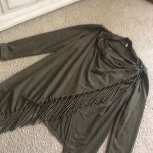 Olive green shawl (worn one time only)